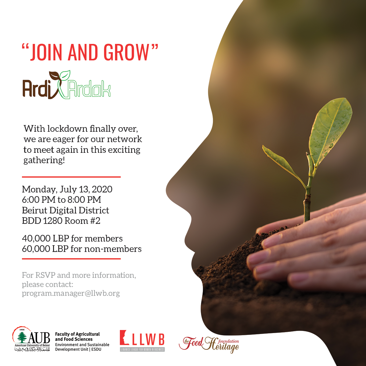 Join & Grow Event – Ardi Ardak Presentation