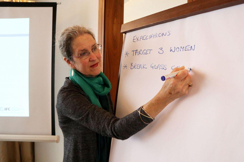 Women on Board - session